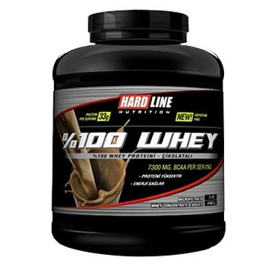 Hardline %100 Whey Protein 2300 Gr