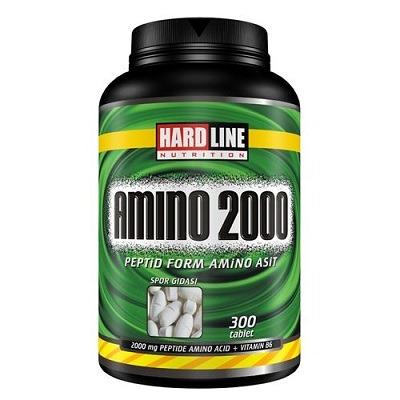 Hardline Amino 2000 300 Tablet