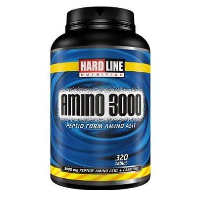 Hardline Amino 3000 320 Tablet
