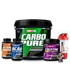 Hardline Carbopure 4000 Gr + Creapure + Vitamin Mineral + BCAA 4:1:1 Kombinasyonu