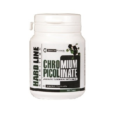 Hardline Chromium Picolinate 100 Tablet