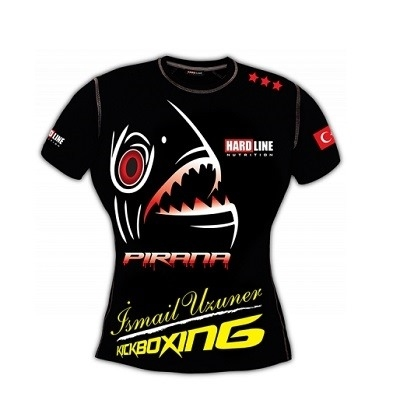 Hardline Fighter T-Shirt Siyah