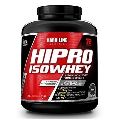 Hardline Hipro IsoWhey 1800 Gr Plain