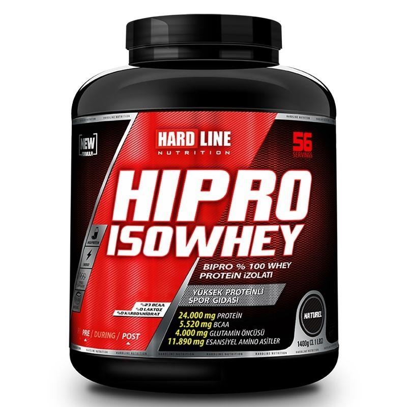 Hardline Hipro IsoWhey Naturel 1400 Gr