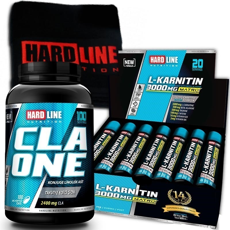 Hardline L-Karnitin Matrix + CLA One Kombinasyonu