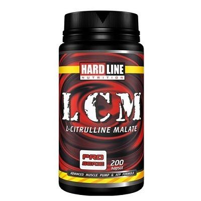 Hardline LCM (Citrulline Matate 2:1) 200 Kapsül