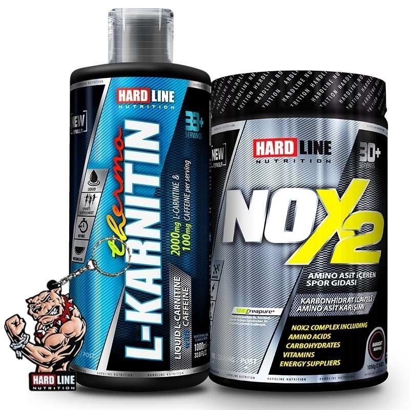 Hardline Nox 2 + L-Karnitin Thermo Kombinasyonu