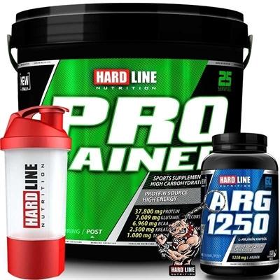 Hardline Progainer 5000 Gr + Arg 1250 Shaker
