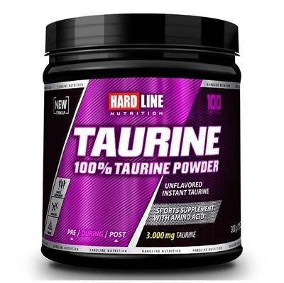 Hardline Taurine 100% Powder 300 Gr