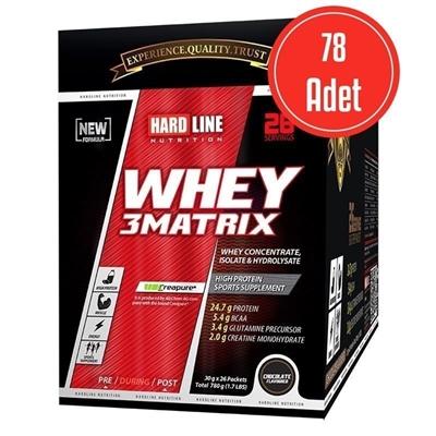 Hardline Whey 3 Matrix 30 Gr 78 Adet (2340 Gr)