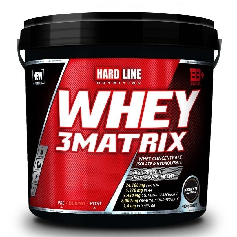 Hardline Whey 3 Matrix 4000 Gr