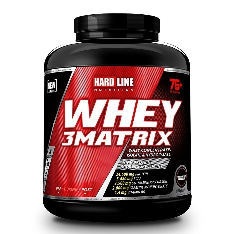 Hardline Whey 3 Matrix Base 2300 Gr