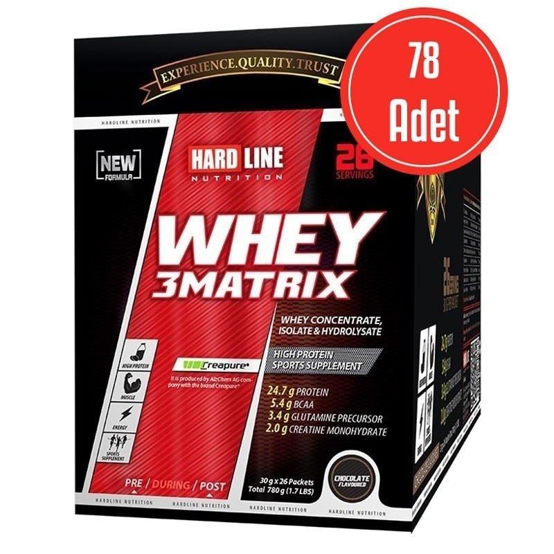 Hardline Whey 3Matrix 30 Gr x 78 Adet (2340 Gr)