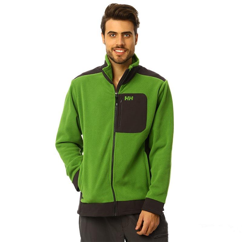 Helly Hansen Powder Polar Jacket Parlak Yeşil