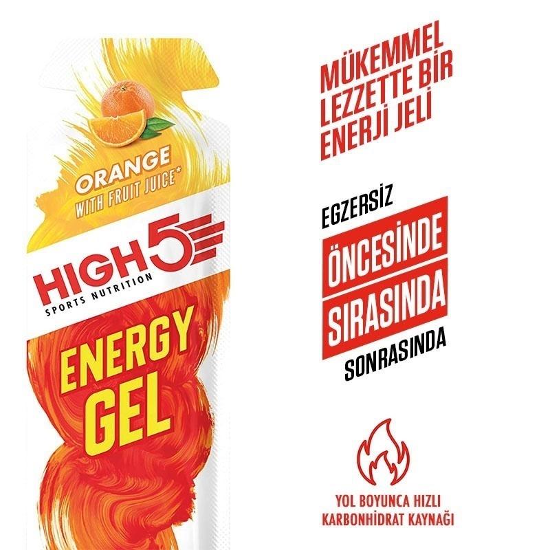 High5 Energy Gel 40 Gr 20 Adet