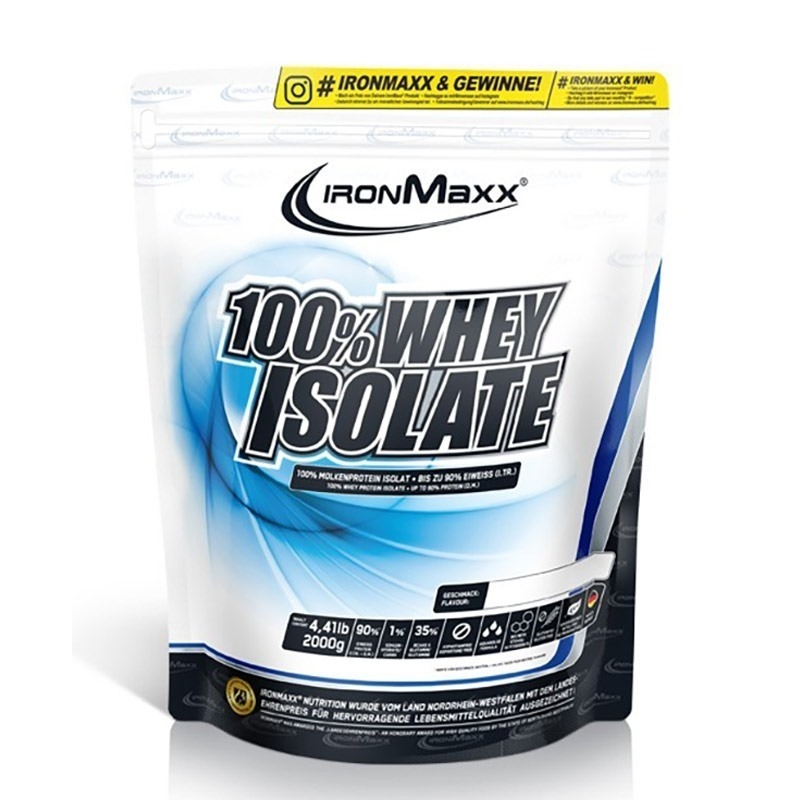 Ironmaxx 100% Whey Isolate 2000 Gr