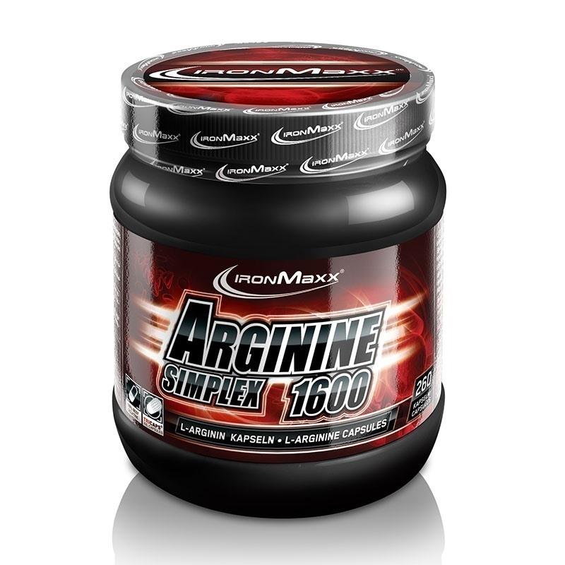 IronMaxx Arginine Simplex 1600 300 Kapsül