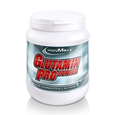 IronMaxx Glutamine Pro Powder 500 Gr