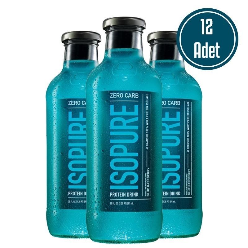 Isopure Zero Carb Protein Drink 591 mL 12 Adet