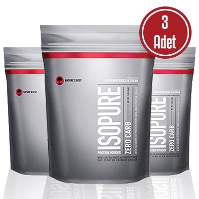 Isopure Zero Carb Whey Protein 500 Gr 3 Adet