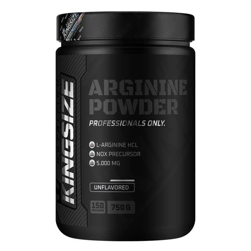 Kingsize Nutrition Arginine Powder 750 Gr