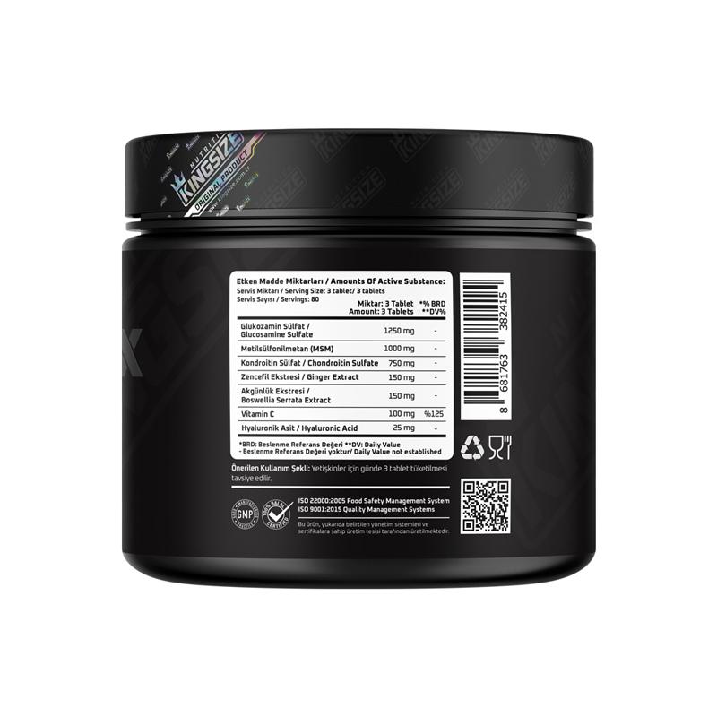 Kingsize Nutrition Flex Complex 240 Tablet
