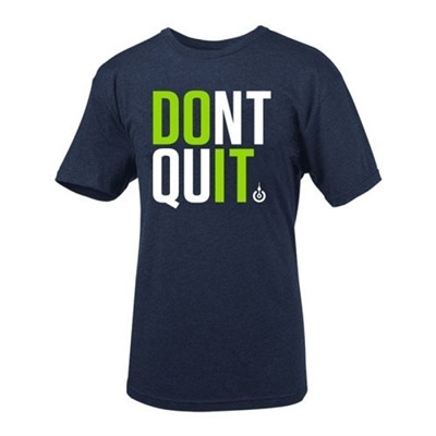 LifeASRX Don't Quit T-Shirt Lacivert