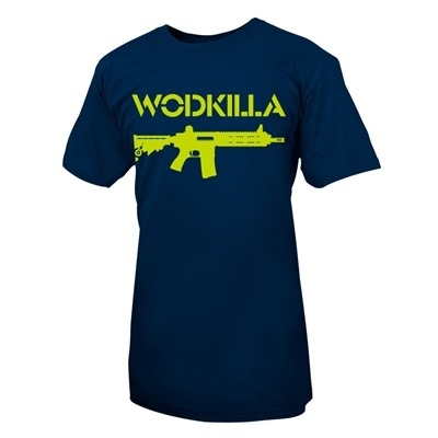 LifeASRX WodKilla MP4 T-Shirt Mavi