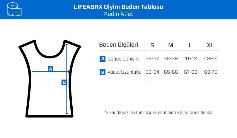 LifeASRX Work It Burnout Atlet Siyah
