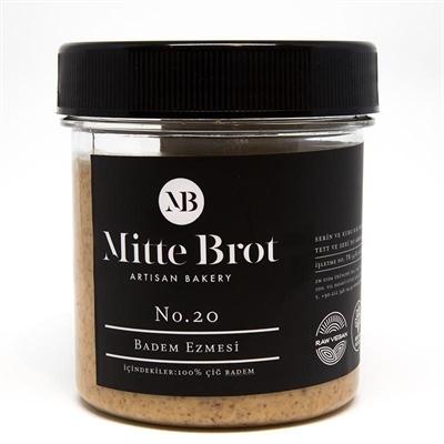 Mitte Brot %100 Çiğ Badem Ezmesi 350 Gr