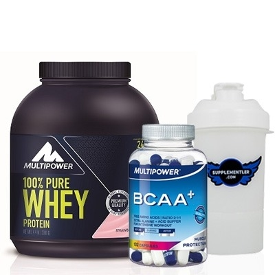 Multipower %100 Pure Whey Protein + BCAA Plus Kombinasyonu