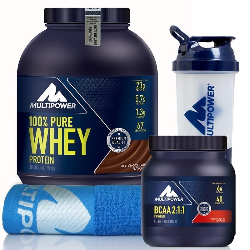 Multipower %100 Pure Whey Protein + BCAA Powder Kombinasyonu