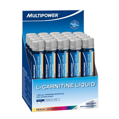 Multipower L-Carnitine Liquid Forte 1800 Mg 20 Ampül