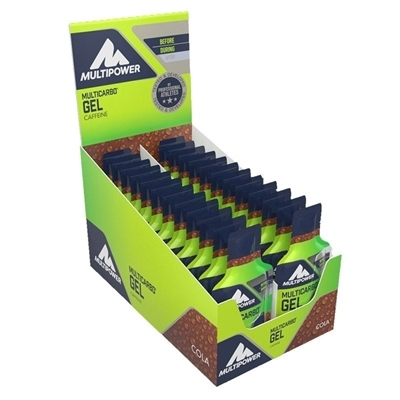 Multipower Multicarbo Gel Caffeine 40 Gr 24 Adet