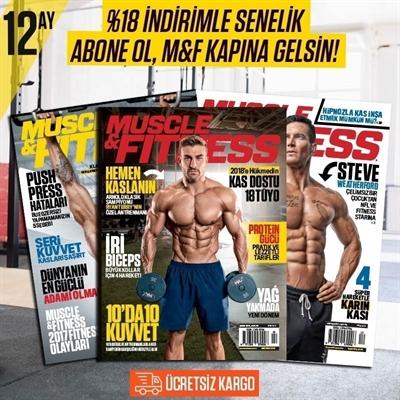 Muscle & Fitness 1 Yıllık Abonelik
