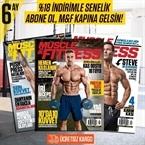 Muscle & Fitness 6 Aylık Abonelik