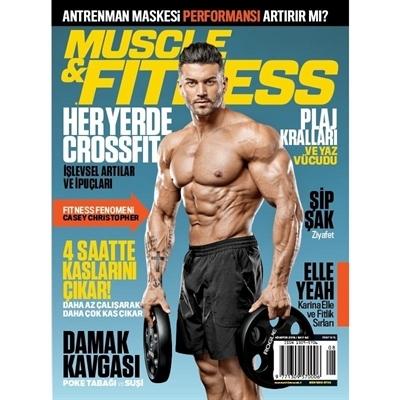 Muscle & Fitness Ağustos 2018 Sayisi