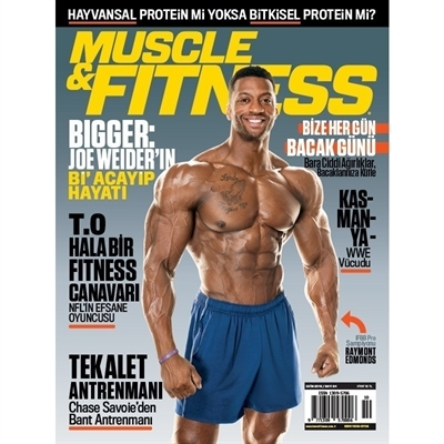 Muscle & Fitness Ekim 2018 Sayisi