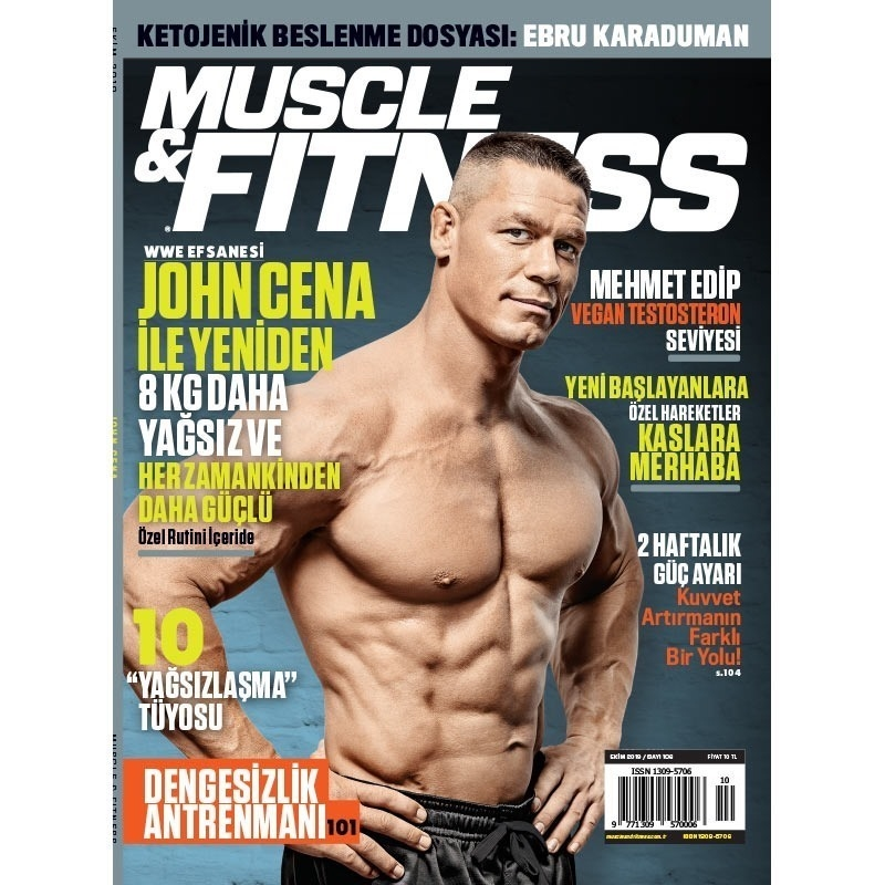 Muscle & Fitness Ekim 2019 Sayısı