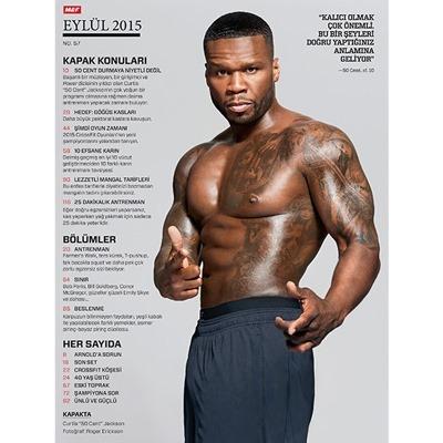 Muscle & Fitness Eylül 2015 Sayısı