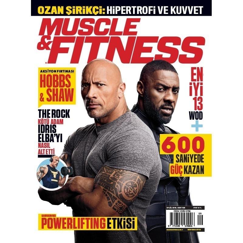 Muscle & Fitness Eylül 2019 Sayısı