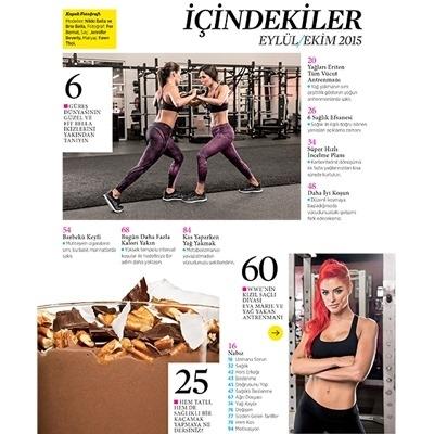 Muscle & Fitness Hers Eylül - Ekim 2015 Sayısı