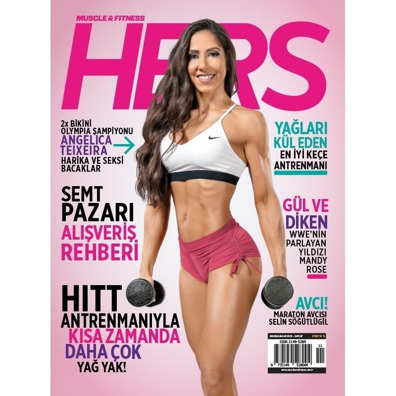 Muscle & Fitness Hers Kasım - Aralık 2019 Sayısı