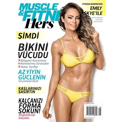 Muscle & Fitness Hers Mart - Nisan 2016