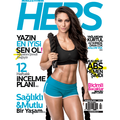 Muscle & Fitness Hers Mart - Nisan 2017