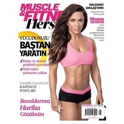 Muscle & Fitness Hers Mayıs - Haziran 2016 Sayısı