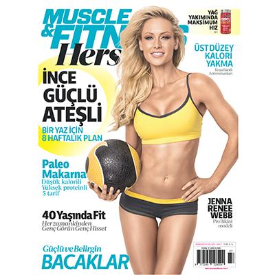 Muscle & Fitness Hers Temmuz - Ağustos 2016 Sayısı