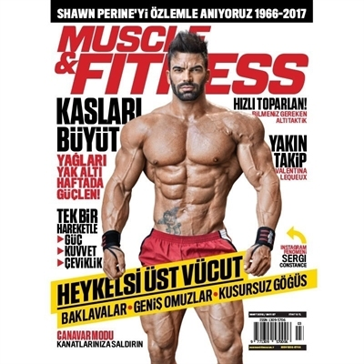 Muscle & Fitness Mart 2018 Sayısı