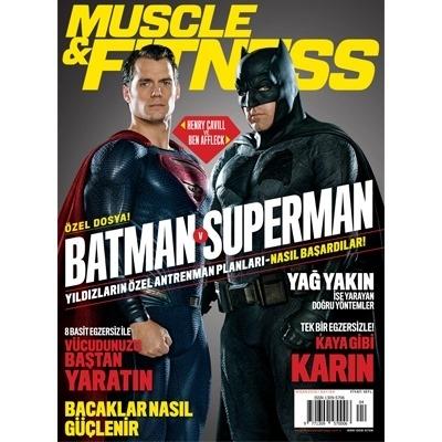 Muscle & Fitness Nisan 2016 Sayısı