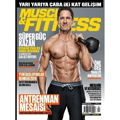 Muscle & Fitness Nisan 2018 Sayısı